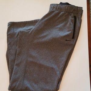 Nike therma fit gray sweats large